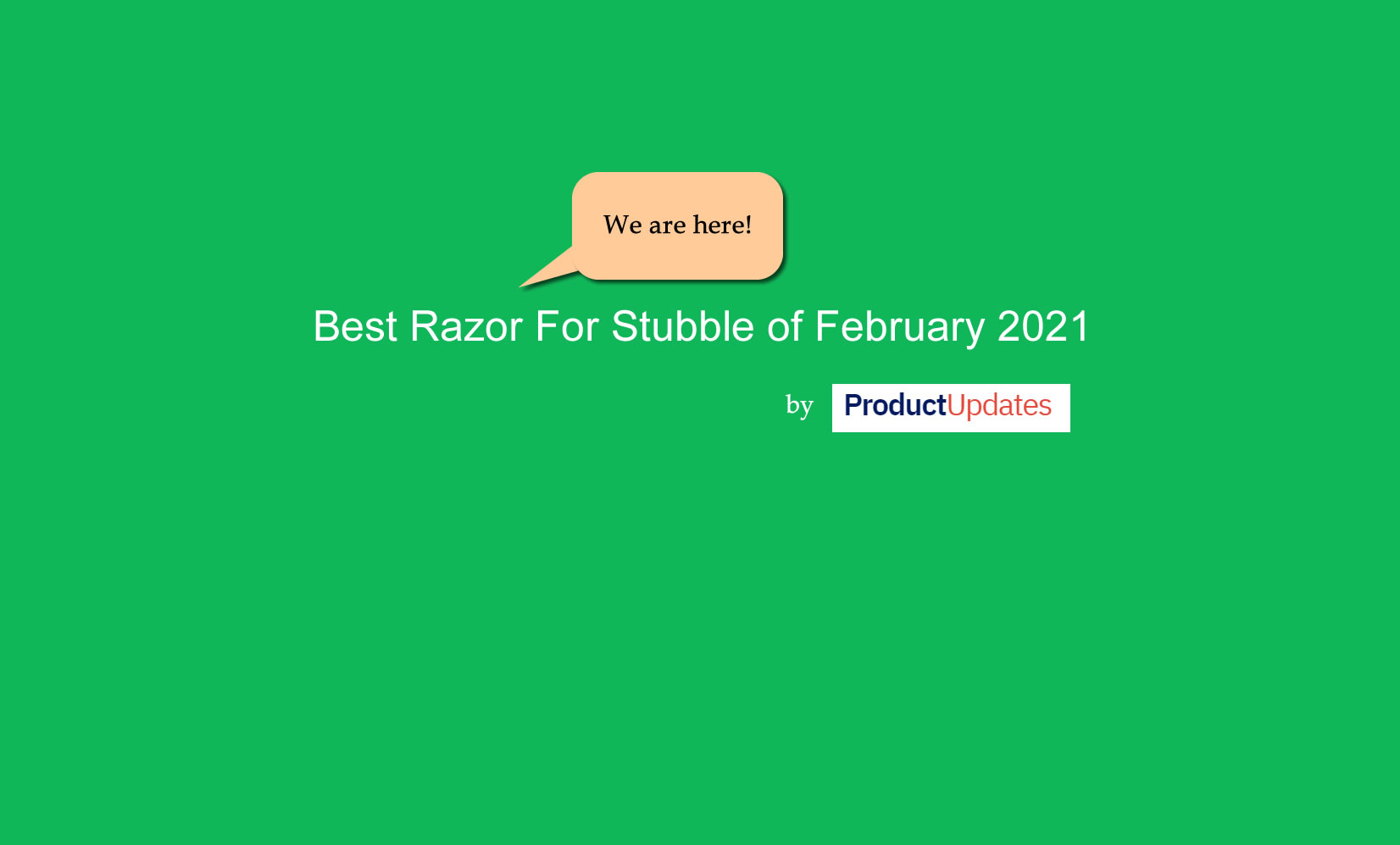 iMusthav® product ranked in Best Razor for Stubble of February 2021